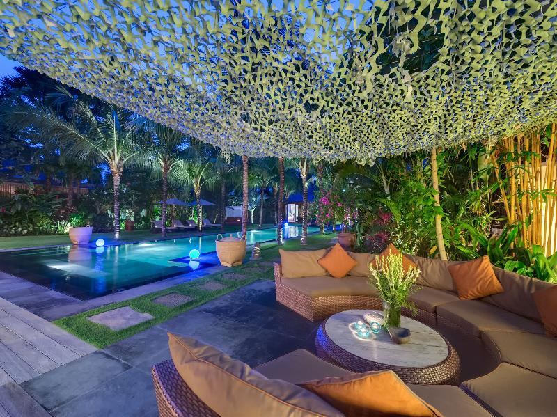 Villa Shambala - Jardins de nuit
