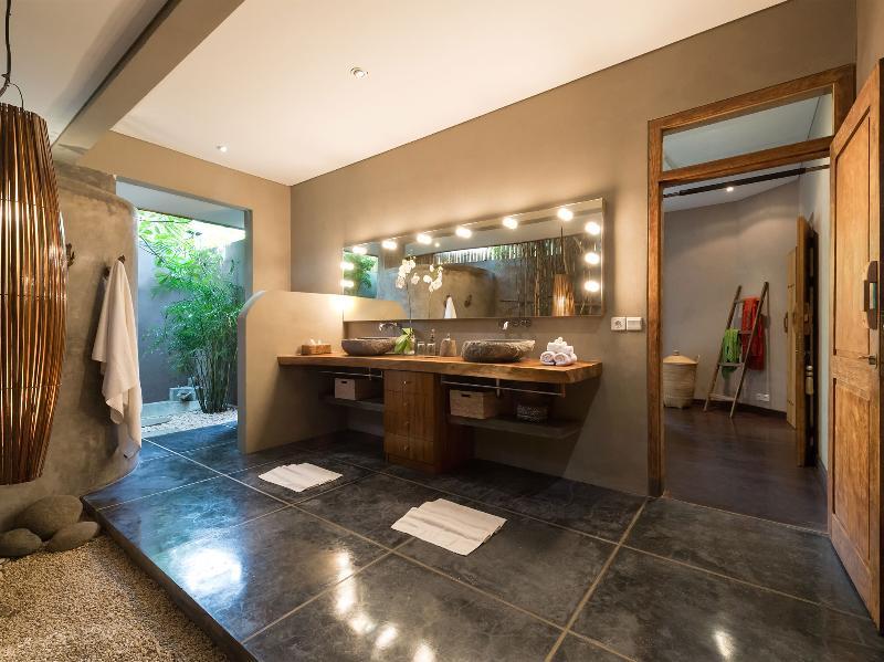 Villa Shambala - salle de bains ouverte