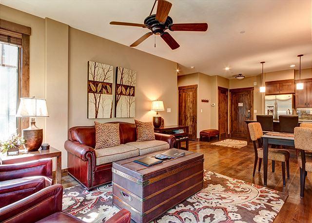 Waterhouse Living Area Breckenridge Lodging Vacation Rentals