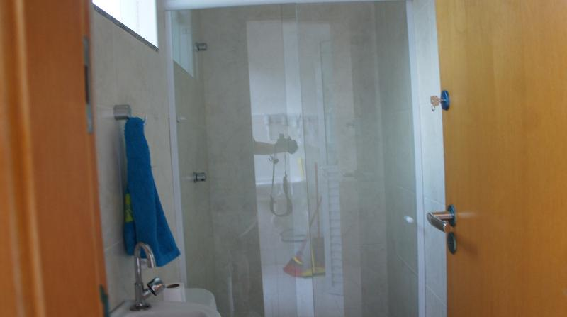 Bathroom with hot shower Apartment Imbassai P/Sea Season N17