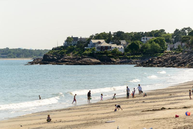Gas House Beach in Marblehead (one of several beaches)