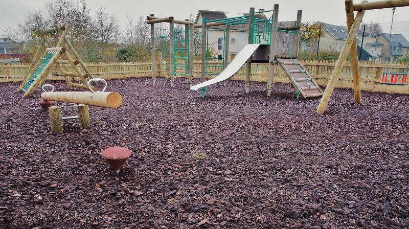 The newly constructed outdoor children's play area - Just a few minutes walk from your villa