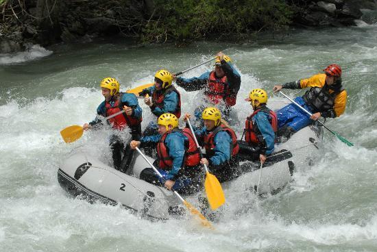 Rafting in Sort