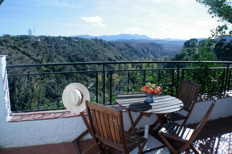 terraza privada con las mejores vistas del recinto.
