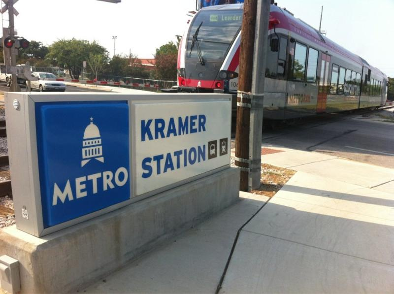 New Metro Rail sations feature park-n-Ride  and service to downtown
