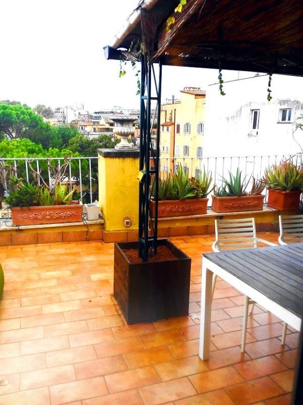 Spot of the terrace