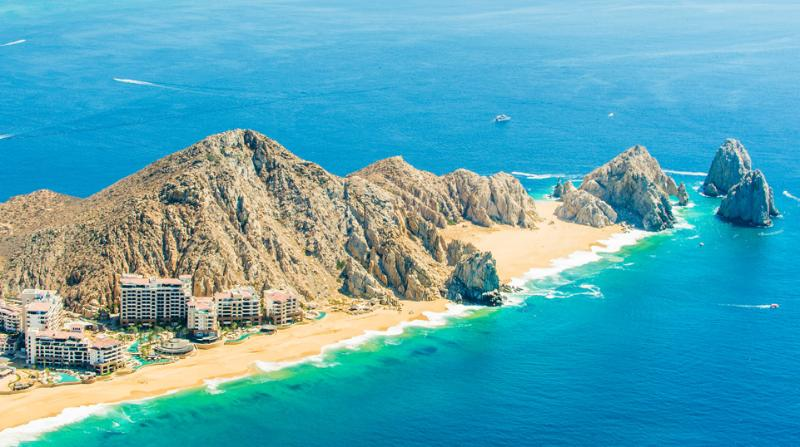 Nestled at the very outermost tip of the Baja (Photo courtesy of Solmar Hotel and Resorts website)