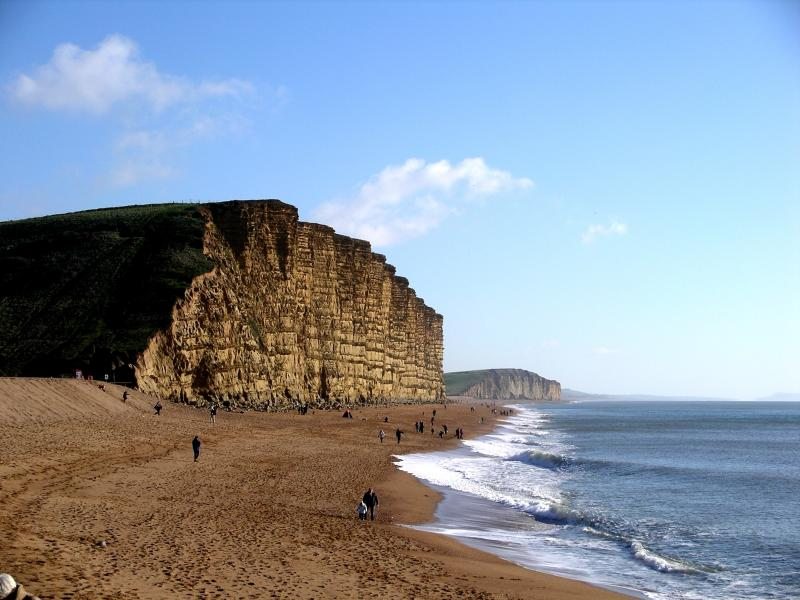 Local Attractions - Cliffs at Westbay (Broadchurch!)