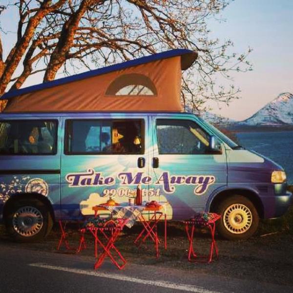 Camper van, casa vacanza a Tromso
