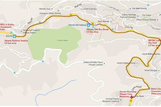 Directions to MyHome Staycations from Railway Station