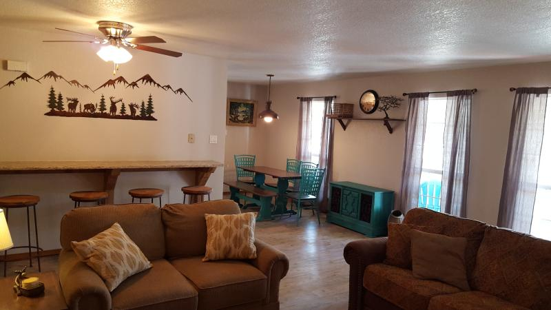Living and Family Area, open concept with comfortable seating.
