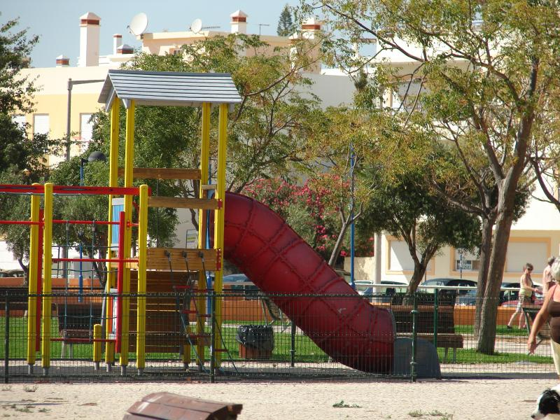 Childrens play area in Fuseta