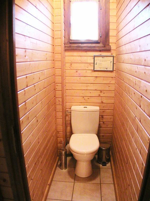 Toaletter på nedervåningen