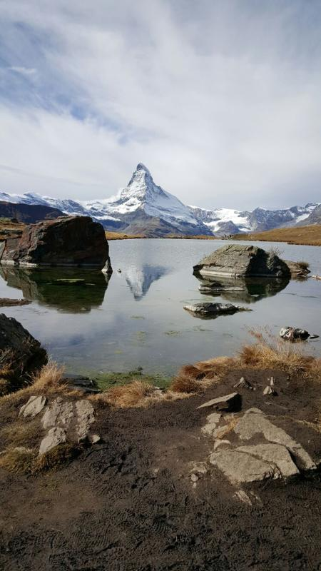 So beautiful Zermatt is in the autumn. Flee the fog. So schön ist Zermatt im Herbst!