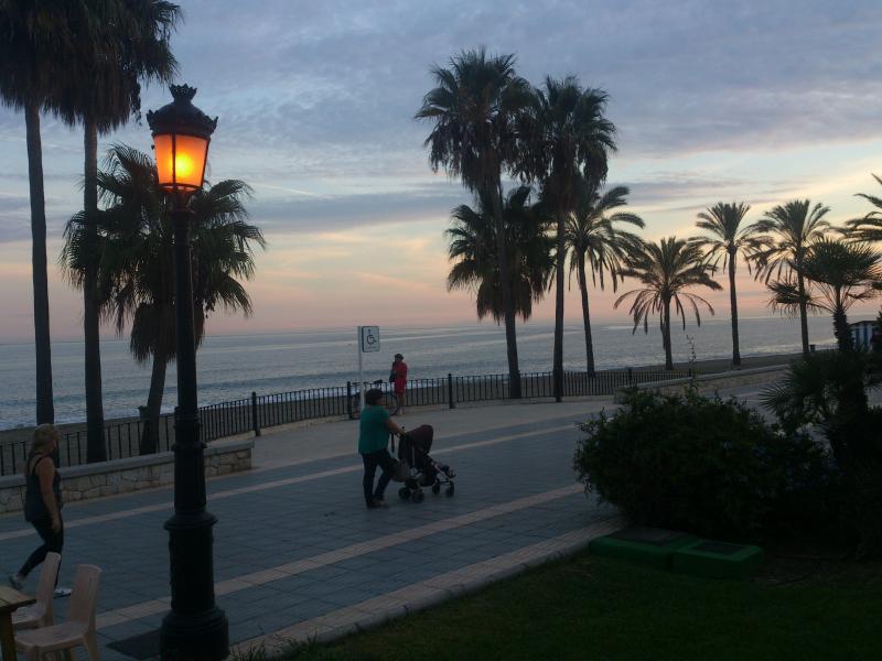 San Pedro Beach Promendade. September.