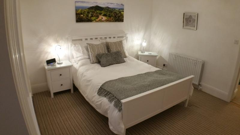 Bedroom Two with King Size High Quality Sprung Mattress and Luxury Cotton Bed Linen.