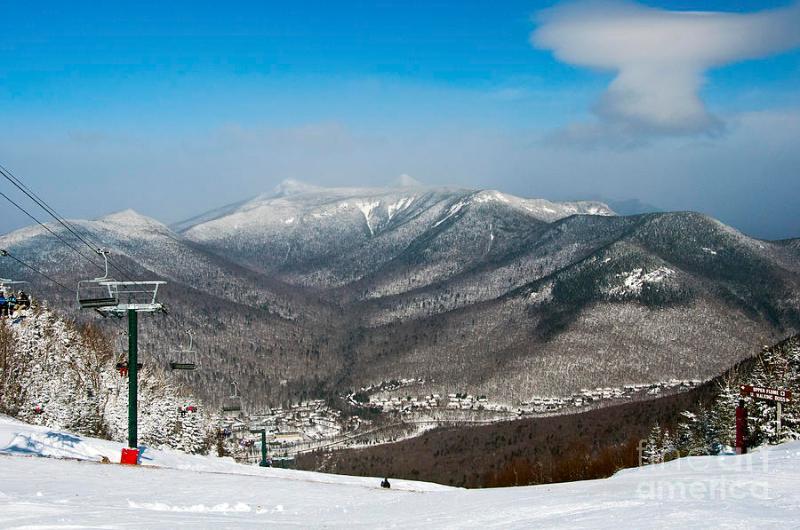 Loon Mountain Skiing.