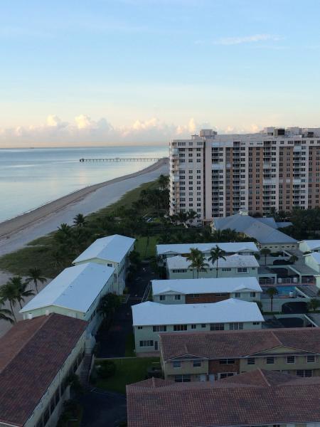 Strand uitzicht