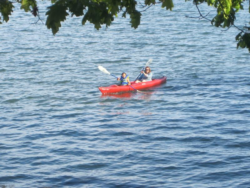 Cottage includes use of canoe, kayak and bikes