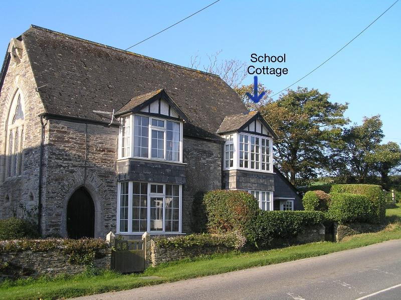 School Cottage used to be the village chapel and school before being made into two cottages