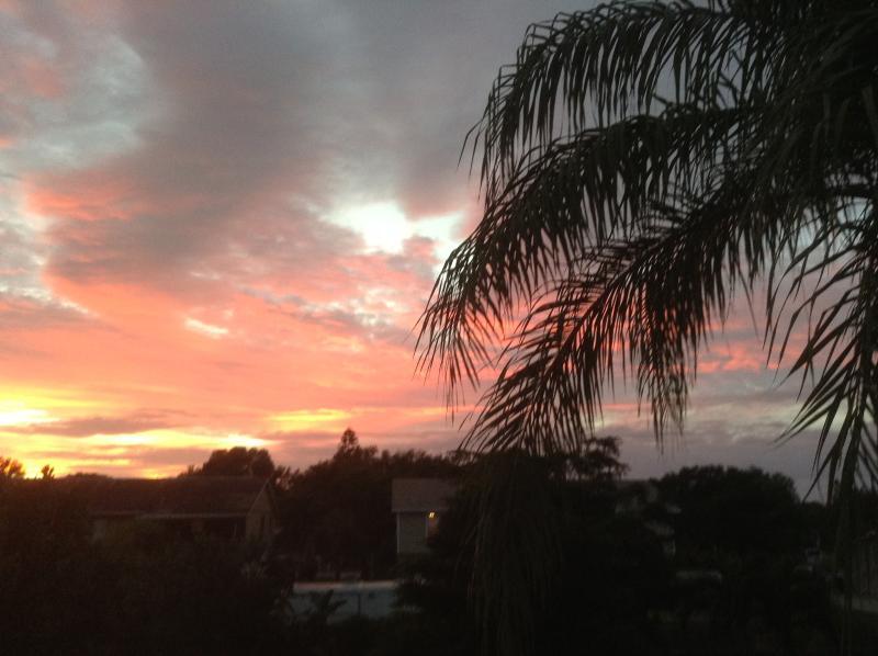 sunset at Paradise Found