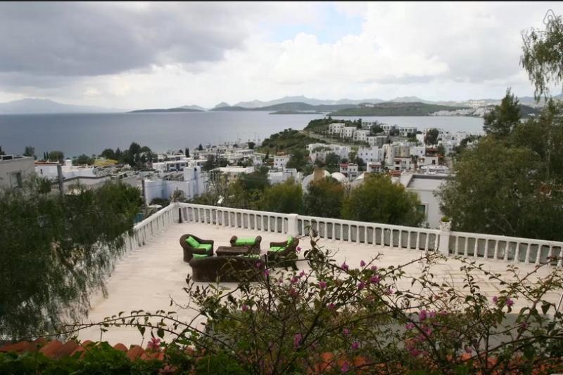 Spectacular view- room rent 50 Euro, alquiler vacacional en Bodrum