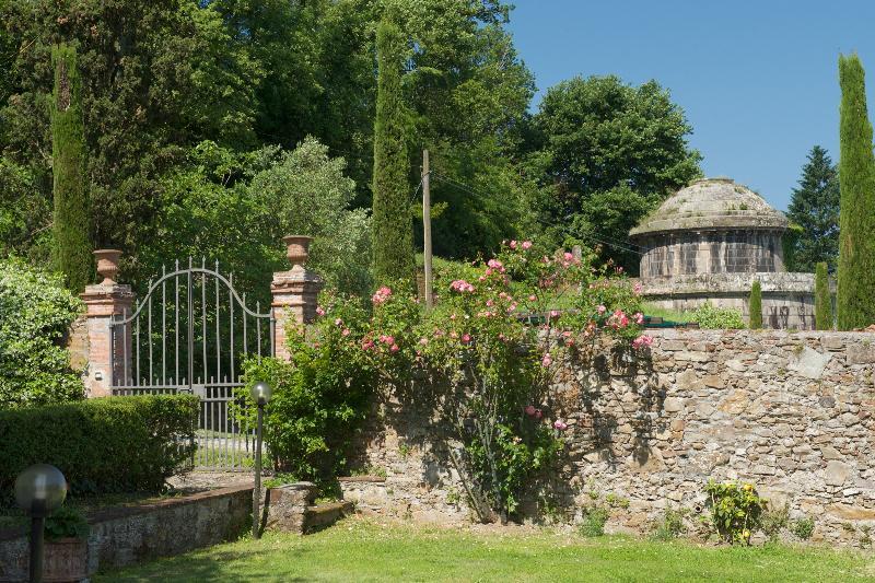 giardino con panorama