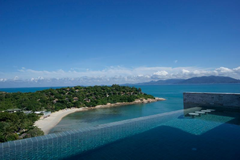 Take a swim in your private infinity pool