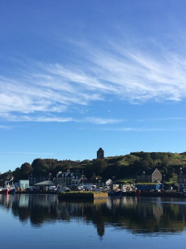 Tarbert - a great place to find fresh seafood