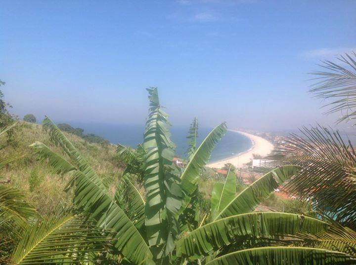 Ponta Negra Beach is just below Casa da Vista.