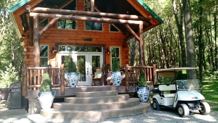 Lakeside Cabin is our newest luxury vacation cabin that accommodates up to 6 guests.