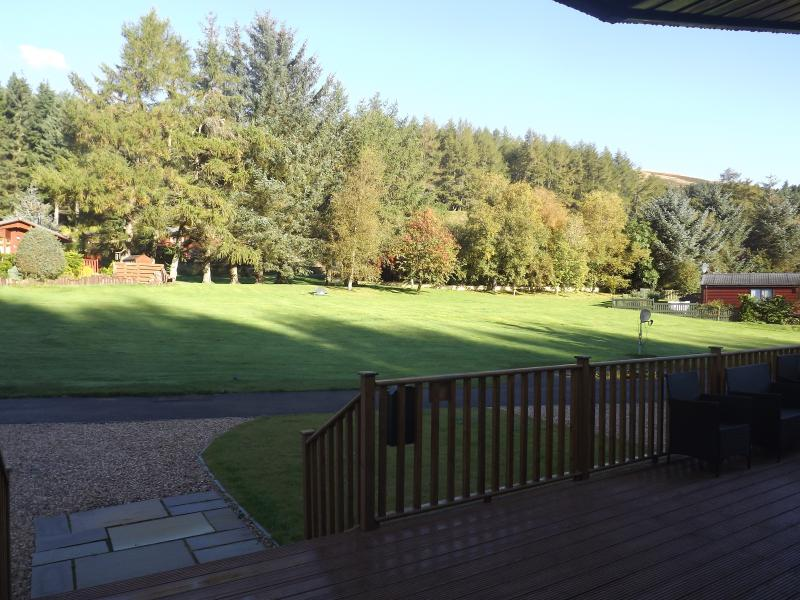 Autumn outlook from the lodge