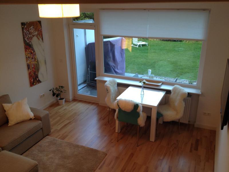 Living comedor con terraza