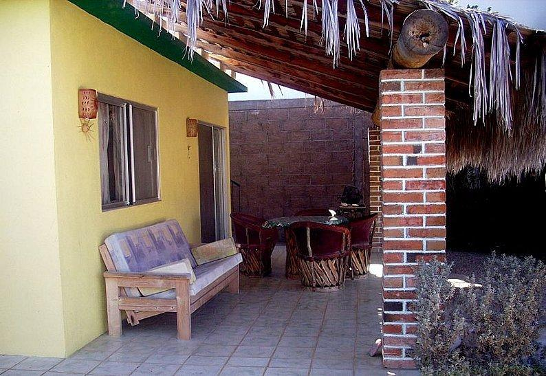 Spacious, tiled patio and absolute private