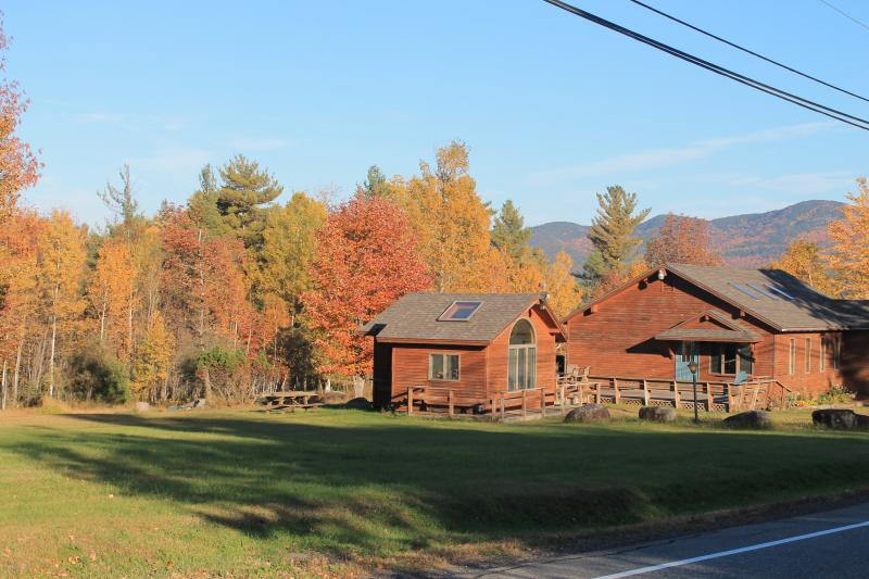 Jay Cottage in the fall