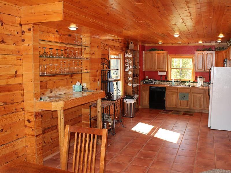 Keuken en de bar