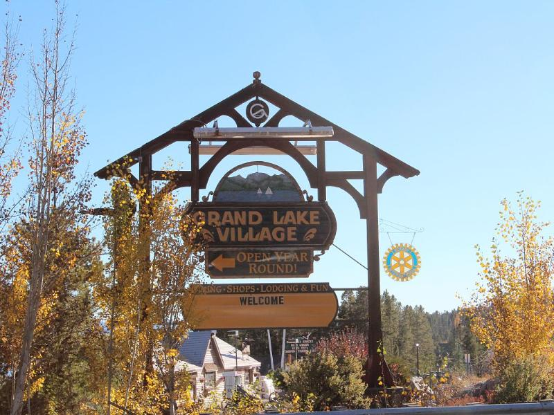 Just a short drive to the Village of Grand Lake