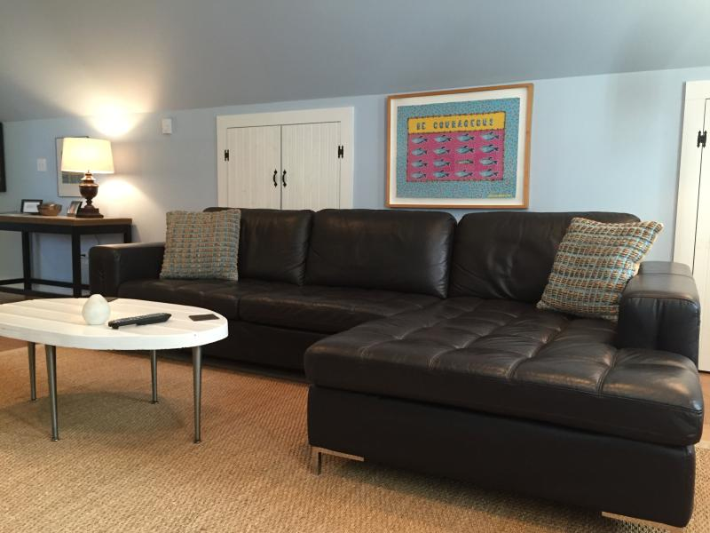 newly re-decorated living room