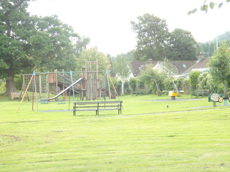 Play park nearby in Llangattock