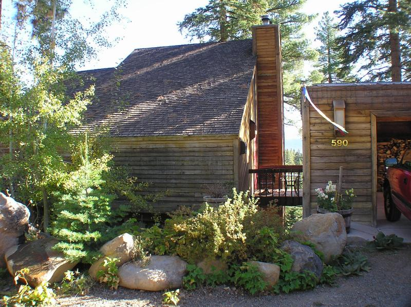 Artistic 3 story Lake View Treehouse, holiday rental in Squaw Valley