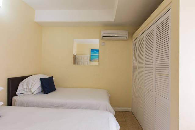 Second Bedroom with Two Twin Beds which is Fully Air-Conditioned