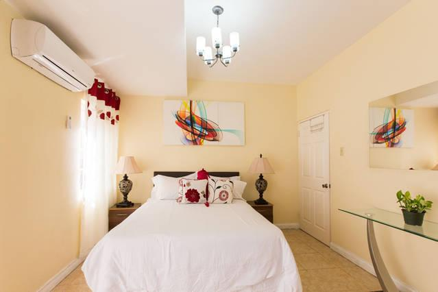 Master Bedroom which is fully Air-Conditioned