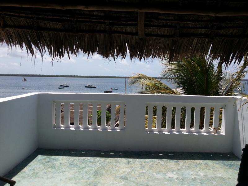 Belle vue depuis la toit-terrasse.