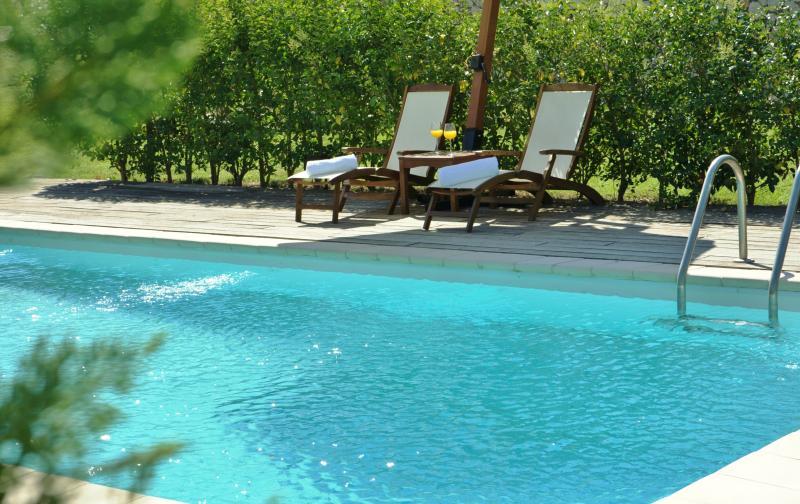 villa Anemone with private pool in Vasiliki Lefkada - il viaggio verde complex, holiday rental in Vasiliki