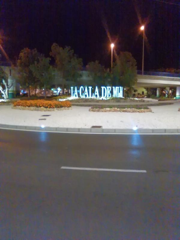 La Cala roundabout