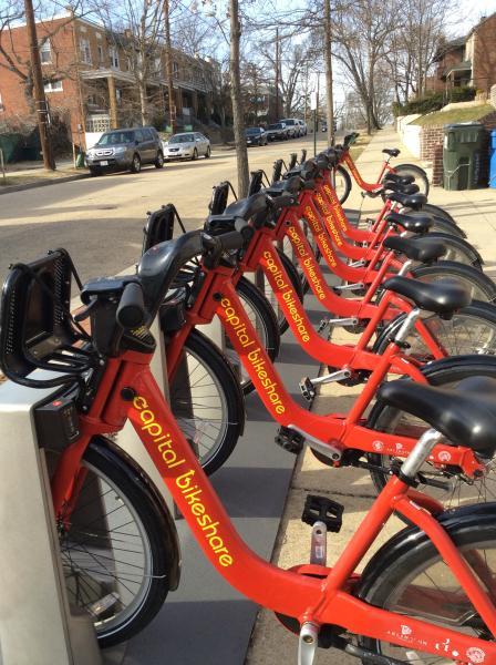 Station Capital BikeShare près de location