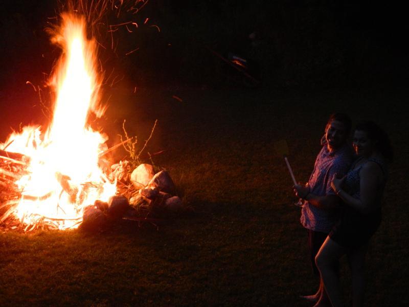 Backyard Bonfire.