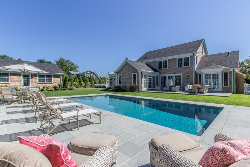 Main House, Guest House, Pool, Pool House  and Patio