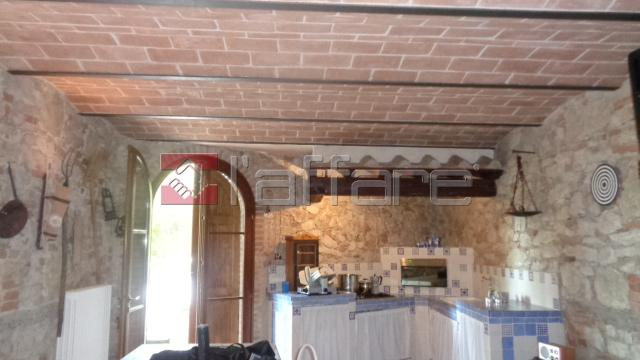 Capannoli appartamento stile rustico con giardino, vacation rental in La Capannina