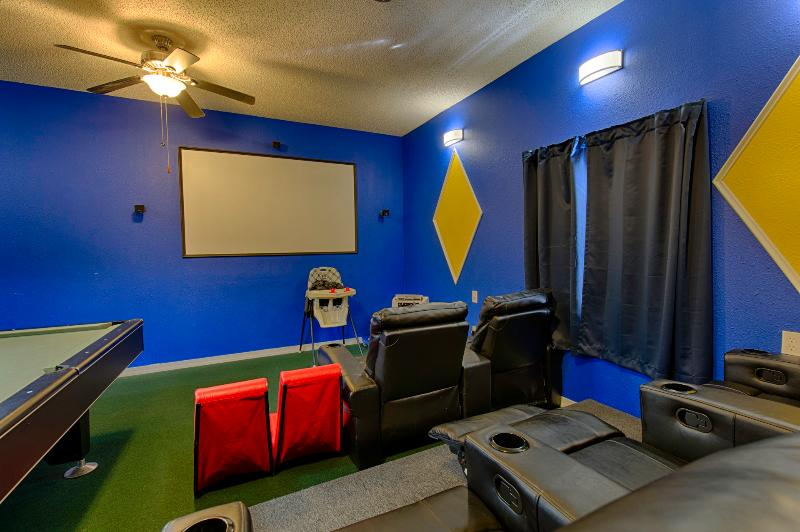 Fully Air-conditioned theater room